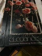 Coordinated Wall covering,Borders And Fabrics Samples  Book Continuous E... - $42.08