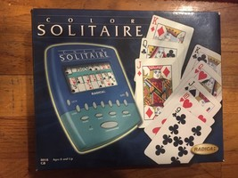 Vtg Radica Color Solitaire Electronic Handheld Game (1999) NEW In BOX - $140.20