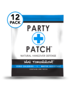 Party Patch 12 pack - All Natural Hangover Defense  - $47.51
