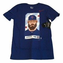 New NWT #49 Jake Arrieta Nike Chicago Cubs Players Spirit Size Small T-S... - $17.77
