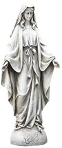 Blessed Virgin Mary Our Lady of Grace Outdoor Garden Statue - $45.99