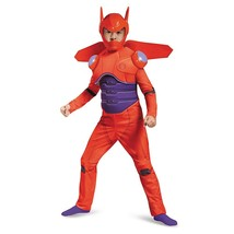 Disguise Red Baymax Deluxe Costume, Medium 7-8 - £26.57 GBP