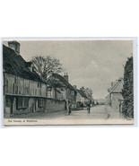 Old Houses Cyclists Westham Sussex United Kingdom 1910c postcard - $7.43