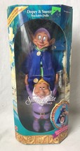 Disney Snow White and the 7 Dwarfs Dopey and Sneezy Stackable Dolls Figu... - $29.95