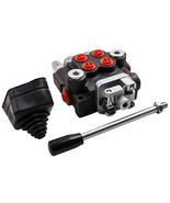 Hydraulic Directional Control Valve 2 Spool Double Acting Single Cylinde... - $145.48
