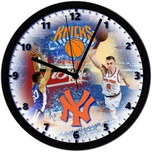 "New York Knicks Homemade 8"" NBA Wall Clock w/ Battery Included - $23.97"
