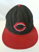 New Era 59FIFTY Cincinnati Reds Fitted Cap Hat Size 7.5 - $35.88