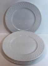 Oneida Wicker Set of 4 Stoneware Salad Plates - $39.59