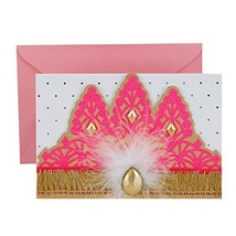Hallmark Signature Birthday Greeting Card Princess Crown - $8.74