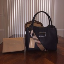 NWT Burberry Buckle Medium Tote in Black - $1,199.34