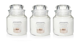 Yankee Candle Sugar Frost Christmas Small Jar Candle Single Wick - Lot of 3 - $35.99