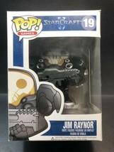 Jim Raynor #19 StarCraft II 2 Blizzard RARE VAULTED Funko Pop Vinyl + PR... - $61.21
