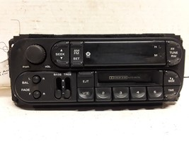 98 99 00 01 02 Dodge Chrysler Jeep AM FM cassette radio receiver OEM P56... - $24.74