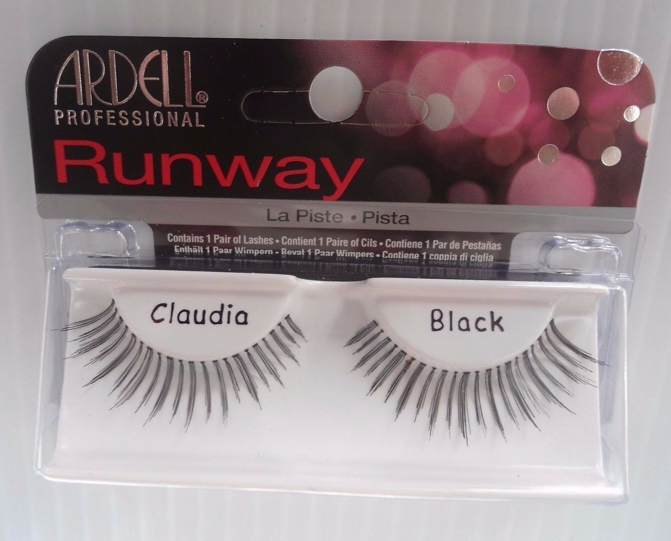 Primary image for Ardell Runway Strip Lashes Claudia Black (Pack of 2)