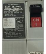 FUJI ELECTRIC SG103CUL 100A EARTH LEAKAGE CIRCUIT BREAKER - $68.02