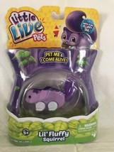 Little Live Pets Lil' Fluffy Squirrel Twinkle-Tail NEW 25+ Sounds Purple... - $18.75