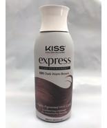 KISS EXPRESS SEMI PERMANENT HAIR COLOR K88 DARK WARM BROWN 3.5 FL. OZ. N... - $5.59