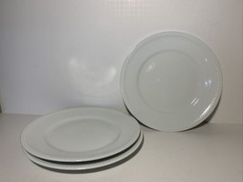 Everyday White® by Fitz and Floyd® Beaded Salad Plates (Set of 3) - $24.99