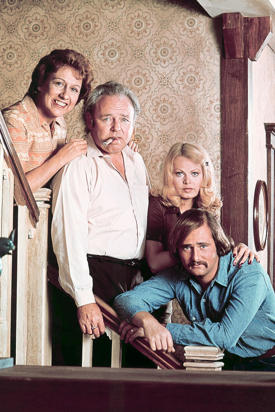 Primary image for All In The Family Carrol O Connor Jean Stapleton Sally Struthers 18x24 Poster