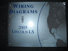2005 Ford Lincoln LS Electrical Wiring Diagram Service Shop Manual EWD OEM - $39.55