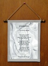 Grandparents - Personalized Wall Hanging (159-1) - $19.99