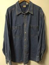 Levi's Red Tab Button Up Denim Shirt Men's Size XL - $20.79