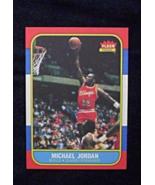 1986/87 Fleer Basketball #57 Michael Jordan [Chicago Bulls] Rookie Repro - $3.75