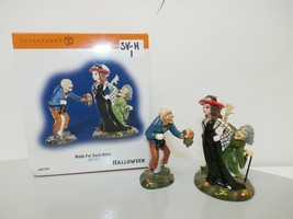 """Dept 56 Snow Village Halloween """"Made For Each Other"""" Set of 2 Figurines ... - $19.79"""