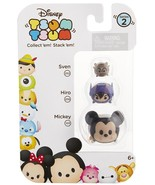 Disney Tsum Tsum 3 Pack Series 2 Sven 252 Hiro 256 Mickey 103 StackEms M... - $9.00