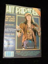 Hit Parader December 1982 Aerosmith Jimmy Page Van Halen Billy Joel Blac... - $19.99