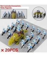 20pcs Star Wars Dewback With 501st Legion Clone Trooper Custom Minifigur... - $39.98