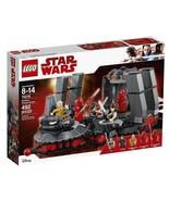 Lego Star Wars Snoke's Throne Room (75216 New) Building Set - $77.77
