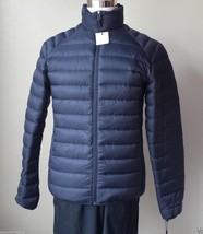 Calvin Klein Men size S navy blue packable down puffer coat jacket NWT - $121.25