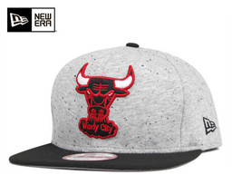 NEW Era Chicago Bulls Heather Spec Grey SnapBack Hat Cap HWC 9FIFTY 8021... - $21.55