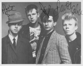 DEPECHE MODE BAND SIGNED AUTOGRAPHED AUTOGRAMME AUTOGRAM 8x10 RP PHOTO A... - $18.99
