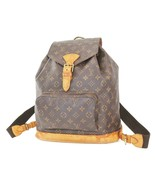 Authentic LOUIS VUITTON Montsouris GM Monogram Backpack Bag #38935 - $701.10
