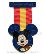 Disney Mickey Mouse Military Replica Medal Walt Disney World pin  - $14.05