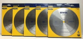 "(New) IRWIN 11870 10""  180 T Circular Saw Blade,Steel Lot of 5 - $80.18"