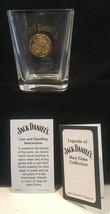 JACK DANIELS 1905 LIEGE BELGIUM GOLD MEDAL SHOT GLASS 2002 LEGENDS - $9.80