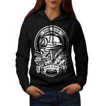 Rider Biker Gun Skull Sweatshirt Hoody  Women Hoodie - $21.99+