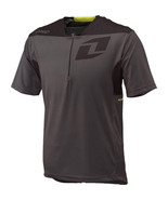 One Industries Alliance MTB Cycle Jersey Zip Gray Shirt Media Port NWT M... - $36.00