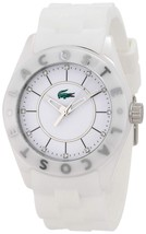 Lacoste Women's 2000672 White/White Watch - $148.49