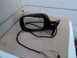 2005 VOLKSWAGEN TOUAREG DRIVER LEFT SIDE POWER DOOR MIRROR 2 PLUGS 14 WI... - $163.35