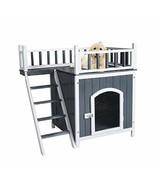 Kinbor Pet Dog House, Wooden Dog Cat Room Shelter, Weatherproof Puppy Ho... - $79.22