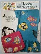 Daisy Kingdom No-Sew 6260 Tropical Fish Applique Iron On Craft Supply Decoration - $16.26