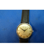 1961 BULOVA QUARTERED DIAL WINDUP WATCH RUNS WHEN WOUND. STAINLESS STEEL... - $195.00