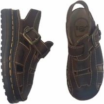 Dr. Martens 7 Fisherman Sandals Leather Closed Toed England Brown Mens #... - $62.70
