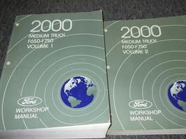 2000 ford f-650 750 m truck service repair workshop manual set factory - $99.09