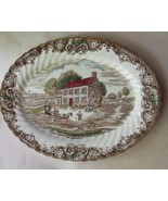 Oval Serving Platter Johnson Bros Heritage Hall Pennsylvania Fieldstone ... - $39.00