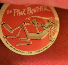 """1980 Vintage  PINK PANTHER Stuffed Toy Doll Plush 12"""" with Tag by Mighty... - $14.84"""